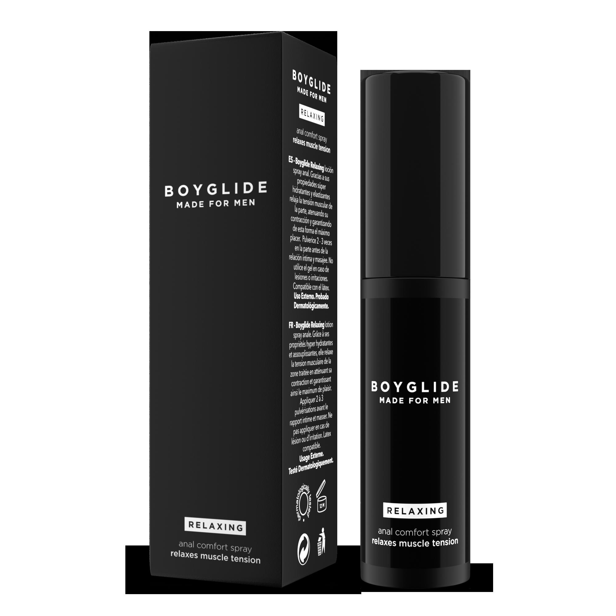 Spray lubrificante per il sesso anale